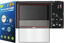 3x Clear LCD Screen Protector Guard Cover Shield Film for Nikon Coolpix S9600