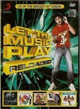 LET THE MUSIC PLAY - RELOAD - 20 HIT SONGS MUSIC DVD  FREE UK POST