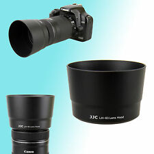 ET-63 Lens Hood Shade for Canon EF-S 55-250mm f/4.0-5.6 IS STM SL1 Kit 58mm JJC