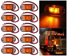 10X 12V-24V LED Side Marker Light Car Truck Trailer Boat Lorry Van Pickup BUS