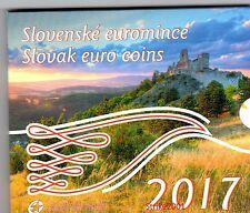 NEW !!! Euro SLOVACCHIA 2017 in Folder Ufficiale NEW !!!