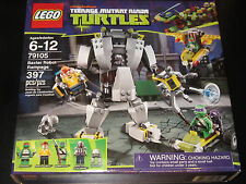 LEGO Teenage Ninja Mutant Turtles Baxter Robot Rampage 79105 Ships Fast Boxed8