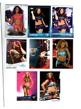 Alicia Fox Wrestling Lot of 8 Different Trading Cards WWE TNA AF-A1