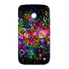 CUSTODIA COVER CASE BOLLE COLORATE BUBBLES COLORS PER NOKIA LUMIA 630