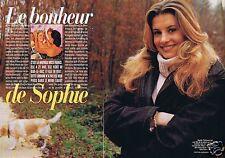 Coupure de presse Clipping 1998 Sophie Thalman  (4 pages)
