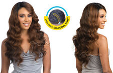 Equal Synthetic Diagonal Part Brazilian Natural Loose Lace Front Wig