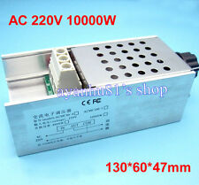 AC 220V 10000W SCR Voltage Regulator Motor Speed Controller Dimmer Thermostat
