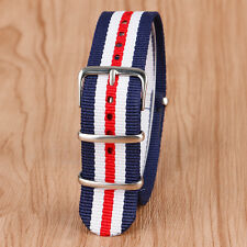 22mm Nylon Watch Strap Wrist Band Replacement Men Women Sport Outdoor NATO Style