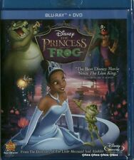 The Princess and the Frog Blu ray DVD 2011 2 Disc Combo Disney New