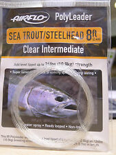 AIRFLO Polyleader | Sea Trout/Steelhead | 8ft/2,40Mtr. | CLEAR INTERMEDIATE