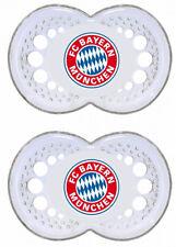 Bayern München Fanartikel MAM Baby 2er Schnuller 0-6 Monate Silikon günstig neu