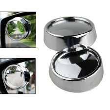 Car 2 Side Safety Rearview Wide Angle Round Convex Blind Spot Mirror