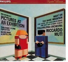 Moussorgsky: Quadri Di Un Esposizione Pictures At An Exhibition Muti CD Philips