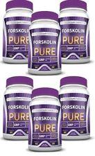 Forskolin Pure - Weight Loss Supplement 20% Standardized Forskolin (6 Bottles)
