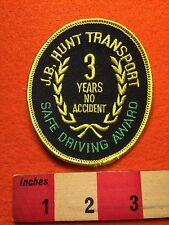 J.B. HUNT Transport Patch ~ 3 Year Safe Driver No Accident Transit Trucking 66WB