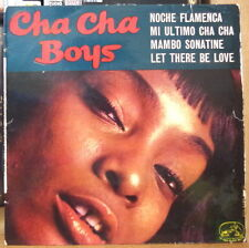 CHA CHA BOYS NOCHE FLAMENCA AFRO CHEESECAKE COVER FRENCH EP 1960