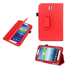 """Special Leather Case Cover Stand For Samsung Galaxy Tab 3 7.0"""" 7"""" Tablet P3200"""