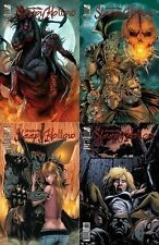 SLEEPY HOLLOW 1 2 3 4 1st print A set (4)  grimm fairy tales presents ZENESCOPE
