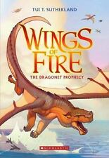 Wings of Fire: The Dragonet Prophecy 1 by Tui T. Sutherland (2013, Paperback)
