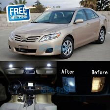 White LED SMD Lights Interior Bulbs Package Kit For 2007-2011 Toyota Camry