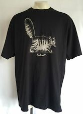 B. KLIBAN CATS B6 Mens Crazy Shirts Bad Cat Black Tee T-Shirt Size 2XL NWT