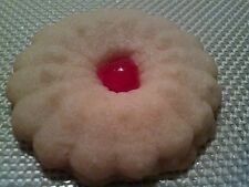 A Pound of Homemade Cherry Shortbread Cookies