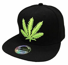 Snapback Casquette weed chanvre Basecap Casquette Hip-hop cool trucker sport Cappy neuf