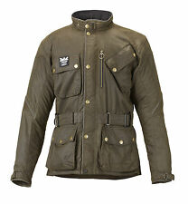 Genuine Triumph Mens Barbour Wax Cotton Motorcycle Jacket Size: XXL ONLY £249