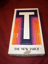 New Tarot for the Aquarian Age - Box set with deck, books & sheet (1969)