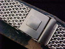 Vintage N.O.S. JB Champion Stainless Steel Chain-Link Mesh Two-Piece 18 MM