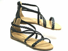 Girls Gladiator Sandals Three Colors Sz 10-4, Pageant Sandals