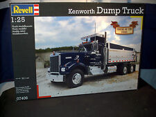 Model Semi Kit Kenworth Chrome Dump Truck