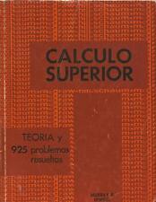 CALCULO SUPERIOR. TEORIA Y 925 PROBLEMAS RESUELTOS - MURRAY R. SPIEGEL - MCGRAW