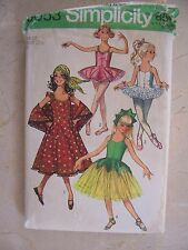 Simplicity Pattern 9053 Child / Girl Ballet 2 Lengths Gypsy Costume sz 10 UNCUT
