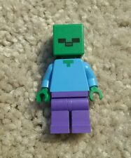 Lego Minecraft Zombie from Cave and Mine -  21118 21113 Minecraft Mob Minifigure