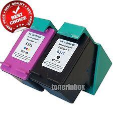 2PK 63XL Black & Color Ink set  for HP Deskjet 1110 1112 2130 2131 2132 2133