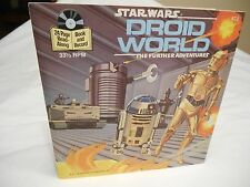 STAR WARS  Droid World  rare book and record set from 1983 Excellent Condition