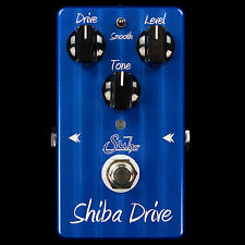 NEW SUHR EFFECTS SHIBA DRIVE OVERDRIVE / DISTORTION GUITAR FX PEDAL