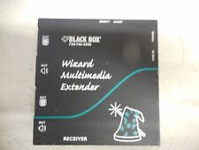 BLACK BOX 724-746-5500 AVU5010A WIZARD MULTIMEDIA EXTENDER 5.3V 1A A AMP