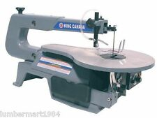 "King Canada Tools KC-163SSC-V-6 16"" VARIABLE SPEED SCROLL SAW Scie à Chantourner"