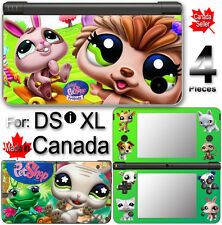 Littlest Pet Shop SKIN COVER VINYL STICKER 3 for DSi XL