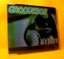 MAXI Single CD Groovebox Just Be Good To Me 5TR 1996 Acid House, Techno