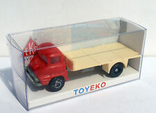 FORD THAMES ROJO RED CON PLATAFORMA WITH PLATFORM 1/87 TOYEKO TOY EKO
