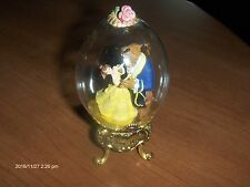 Disney: Vintage  Beauty And The Beast Glass Egg  Globe