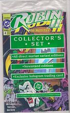 Robin II Poly Bagged Collectors Set of 2 Different #4 Issues, Mint Condition.