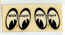 vtg MOON equipped water slide decal hot rod drag race eyes bonneville