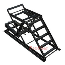 2,200 LBS Cap Car Ramp Truck Van Lift Stand Jack Adjustable Height 7-7/8 To 16''