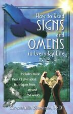 How to Read Signs and Omens in Everyday Life, Sarvananda Bluestone, New Book