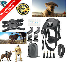 GoPro Kit Pet Dog Harness 21-in-1 Hero 5/4/3/2/1 Session Hero SJ Cam, Xiaomi LCD