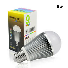 RGBW W/WW E27 GU10 6W 9W LED Light Dimmable RGB Bulb Lamp 2.4G Wireless Milight